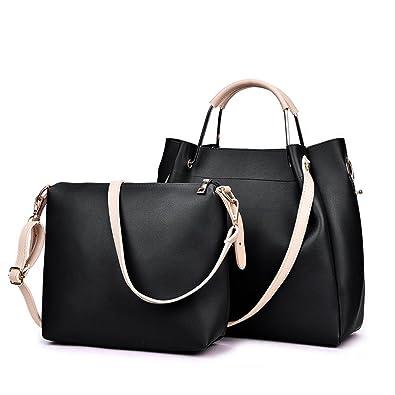 c212a02aa1c4 Amazon.com  Womens Purses and Handbags Hobo Tote Purse Vintage Satchel  Shoulder Bags Designer Top-handle Crossbody Bag (Black)  Shoes