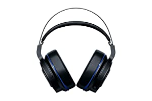 Razer Thresher 7.1: Dolby 7.1 Surround Sound - Lag-Free Wireless Connection - Retractable Digital Microphone - Gaming Headset Works with PC & PS4 (Color: Headset, Tamaño: 7.1 Surround)