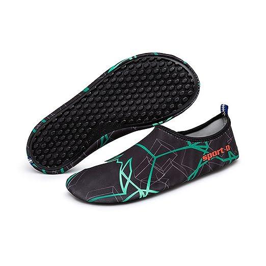 Descalzo Aqua Water Shoes Beach Swimming secado rápido Slip ...