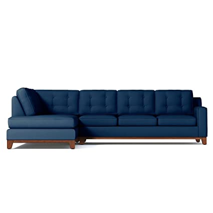 Amazon.com: Brentwood 2-Piece Sectional, Blueberry, LAF - Chaise on ...