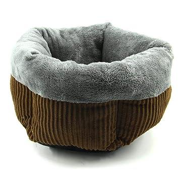 635 Cama para Perros Esquina Cinco de Ondulado Saco de Moda Caliente Redondo Nido Gatos Kennel Perro Casa 55 * 45 * 20 cm: Amazon.es: Hogar