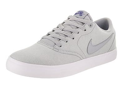 huge discount bf490 bfc46 Nike Unisex SB Check Solar CNVS PRM Wolf Grey Wolf Grey Deep Night Skate  Shoe