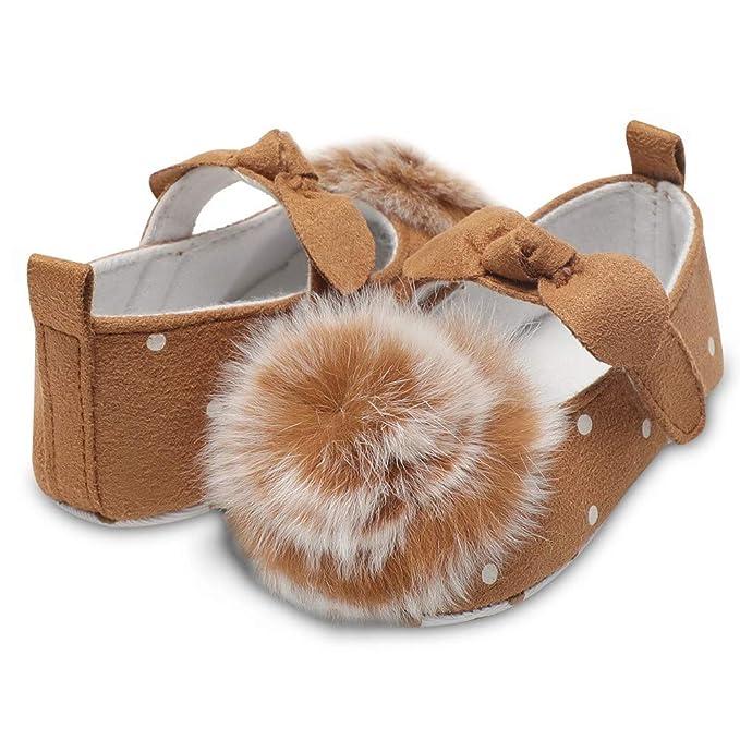 Amazon.com: Foncircle Zapatillas de bebé para niñas con ...