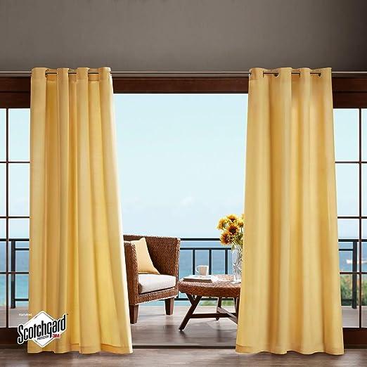 1 cortina de 84 colores de coral, panel individual, pergola para exteriores, cubierta de porche, cabana, patio, entrada, sol, lanai, naranja, rosa, patrón de color sólido, colores de rugby al aire libre: