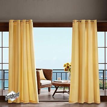 1 cortina de 84 colores de coral, panel individual, pergola para exteriores, cubierta