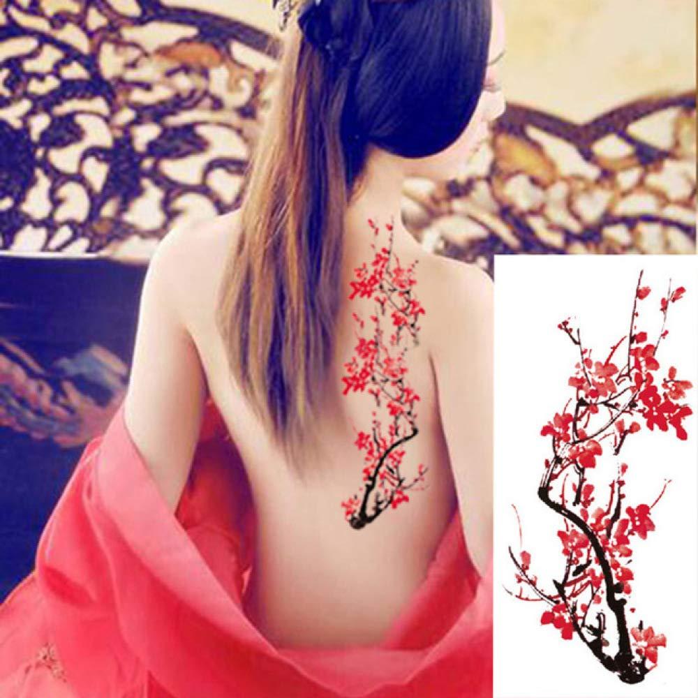 Handaxian 3pcs Peony de Rose Arte de la Flor Pegatinas Tatuaje del ...