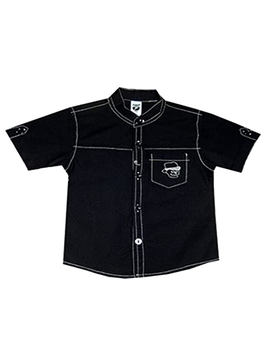 ac5b41ef62 Kooka Kids Half Sleeves Regular Fit Shirt For Boys  Amazon.in  Clothing    Accessories