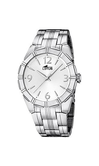 Lotus 15984/1 - Reloj de Pulsera Mujer, Acero Inoxidable, Color Plateado: Amazon.es: Relojes