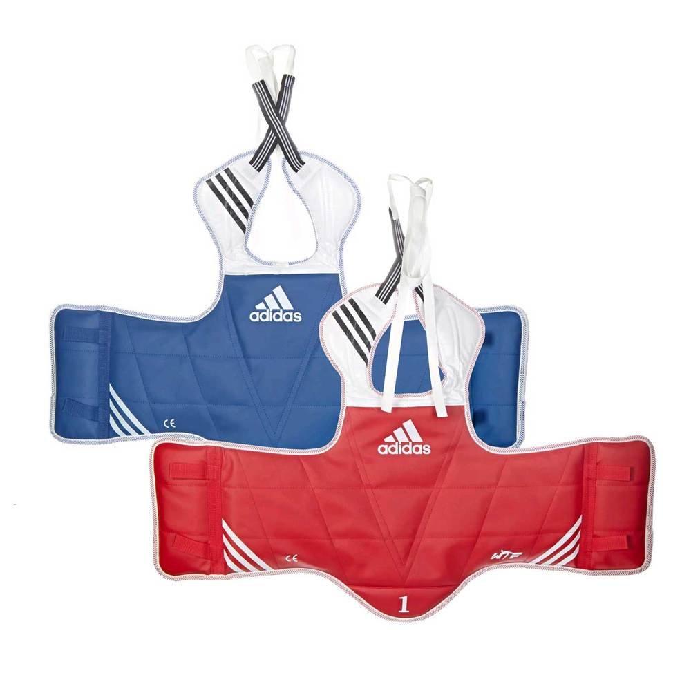Adidas Taekwondoリバーシブル大人用ボディプロテクター  Medium