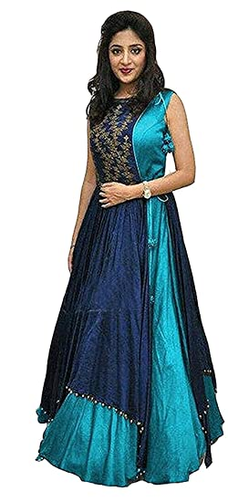 9ceb561743 Gown For Women Readymade For Everyone ATEST Gown Style Gown For ladies long  Anarkali Fancy Dress