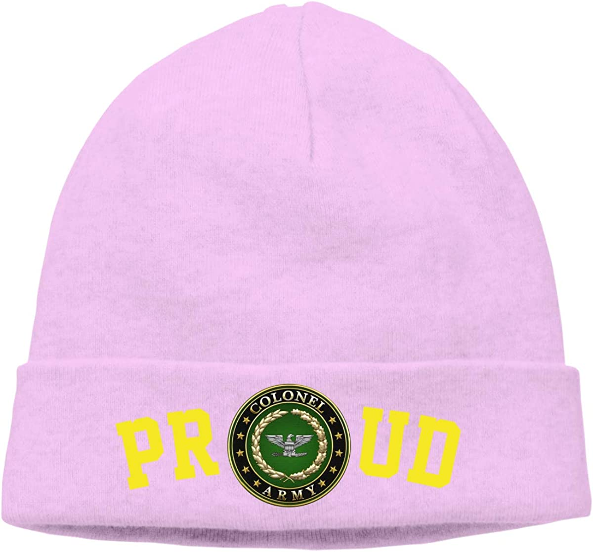 FORDSAN CP Proud Army Colonel Rank Mens Beanie Cap Skull Cap Winter Warm Knitting Hats.