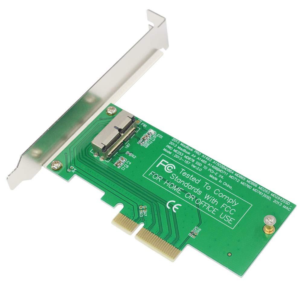 GODSHARK - Tarjeta adaptadora PCIe SSD para MacBook Air Pro Retina ...