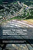 energy activity - Sharing the Costs and Benefits of Energy and Resource Activity: Legal Change and Impact on Communities