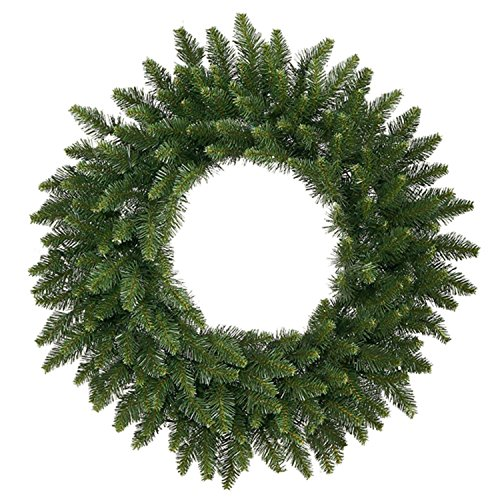 Fir Camdon Tree Christmas (Vickerman Unlit Camdon Fir Commercial Size Artificial Christmas Wreath, 12', Green)