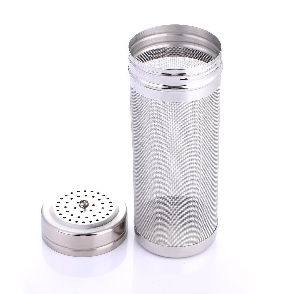 300 Micron Mesh Home Brewing Beer Stainless Steel Filter Dry Hop Spider Hopper for Cornelius Kegs Corny Keg Home Brew