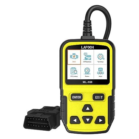 Vehicle Code Reader >> Amazon Com Lafoch Obd Ii Vehicle Code Reader Automotive Obd2