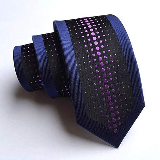 Corbatas Formal Clásica para Hombre Corbata Tejida Jacquard de la ...
