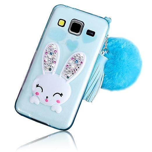 3 opinioni per Sunroyal® Samsung Galaxy Core Prime SM-G360F / SM-G361F Cover 3D Lovely Coniglio