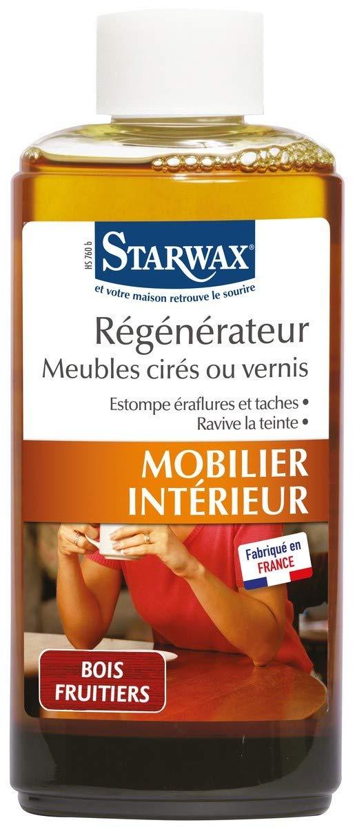 Régénérateur Meubles Cirés Et Vernis Starwax (Bois Clair): Amazon.fr:  Cuisine U0026 Maison