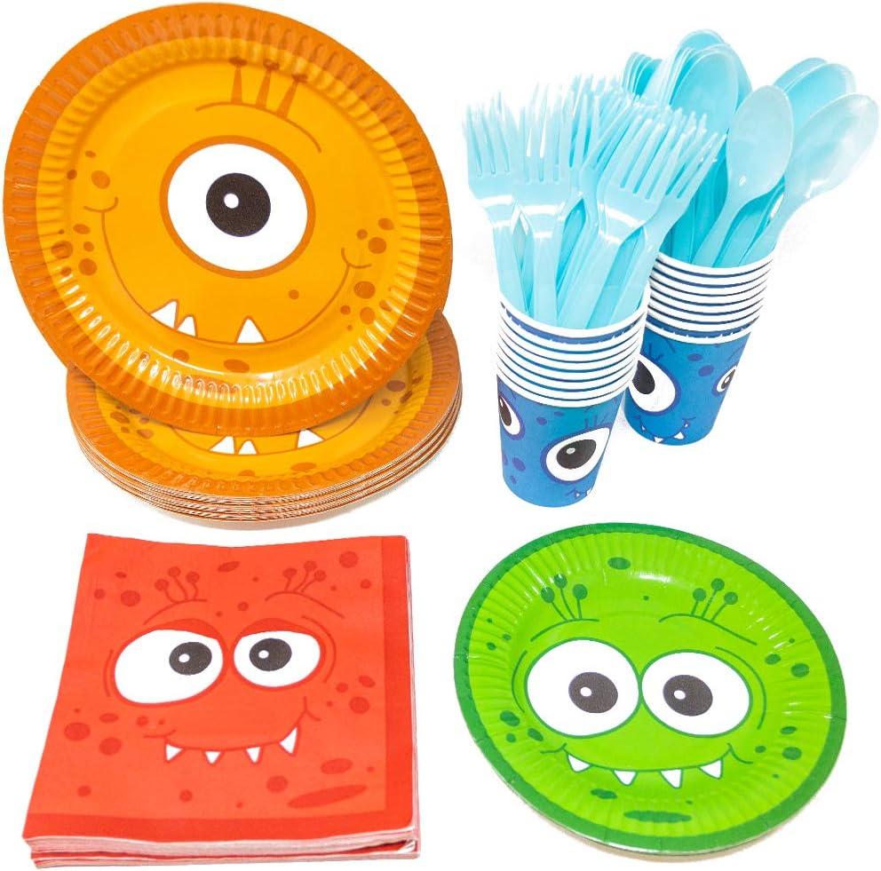 Monster Party Tableware Bundles