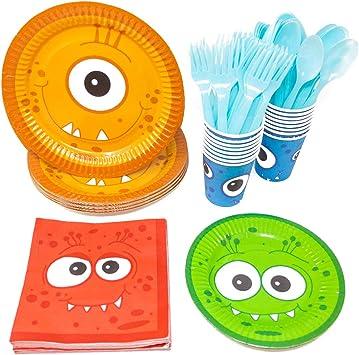 Amazon.com: Monster estándar paquetes de fiesta de fiesta ...