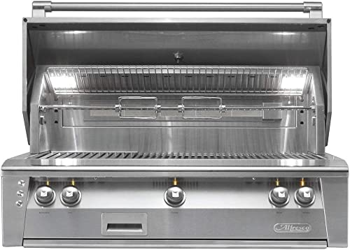 Alfresco ALXE-42-NG 42 Standard Grill Natural Gas Built In Stainless
