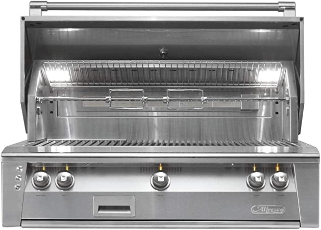 Delta Heat 38 Grill Built in 2019 Model with Infrared Rotisserie and Infrared Sear Zone Natural Gas DHBQ38RS-D-N