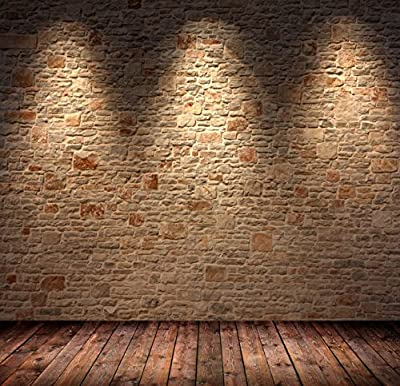THINKER HD IMAGE 5x7FT brick wall The ruins of the city Indoor Studio photography Background Computer-Printed Vinyl Backdrop