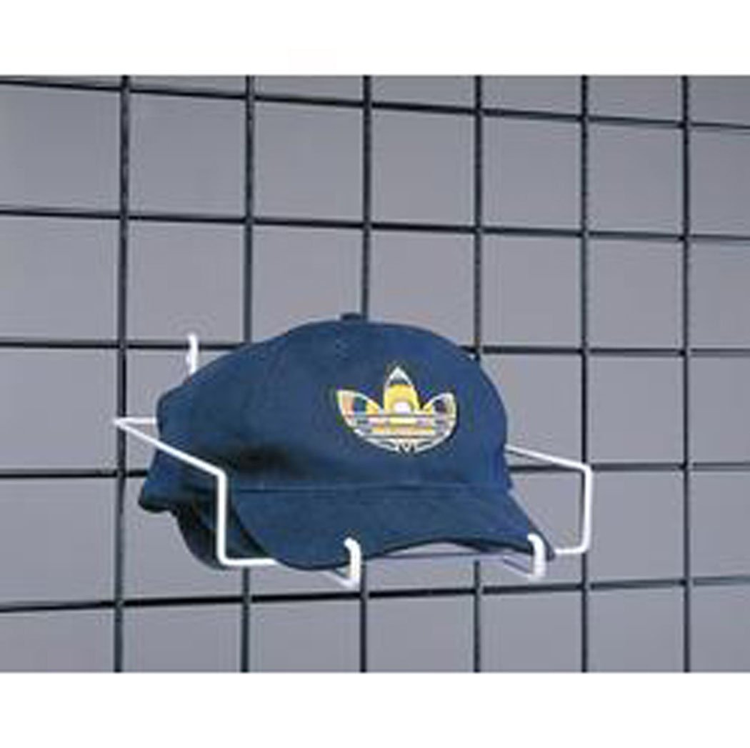 GRIDWALL GRID Baseball Cap Hat Display Panel Store Fixture Lot Of 20 White New