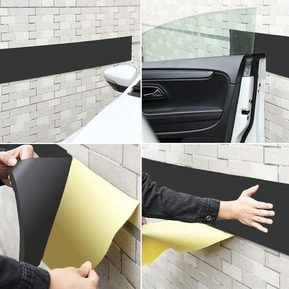 Lin XH Auto Autot/ür Kantenschutz Garage Gummistreifen Wandschutz Sto/ßstange Sicherheitsparken Adhesive Guard Garage Wall