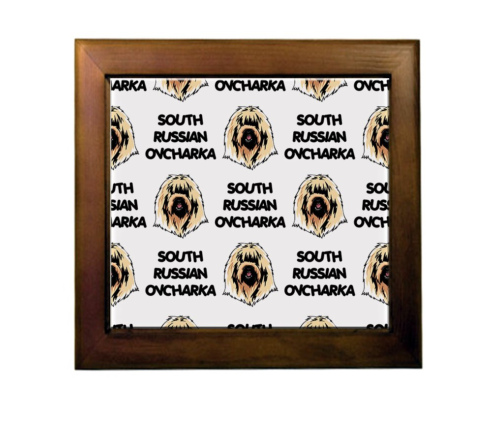 South Russian Ovcharka Dog Breed Ceramic Tile Backsplash Accent Mural 50%OFF