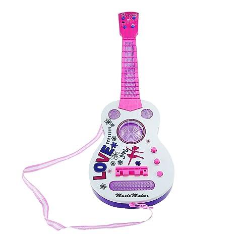 4 cuerdas música eléctrico guitarra, Shayson guitarra eléctrica niños niños bebé Musical instrumentos juguete de