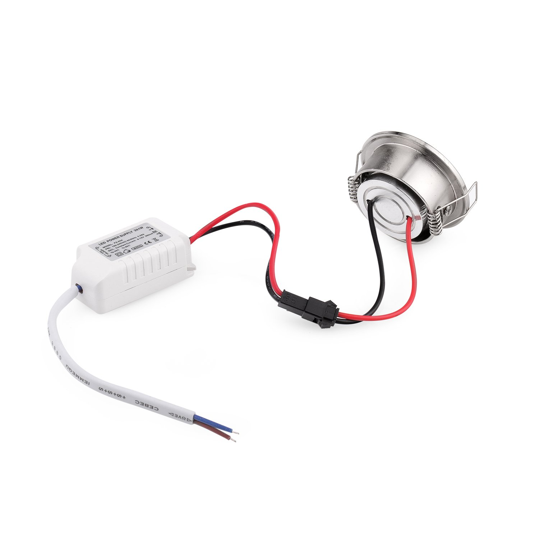 Pack of 10 3W COB LED Lights Mini Adjustable Recessed Downlights 3000K by Joyinled (Image #2)