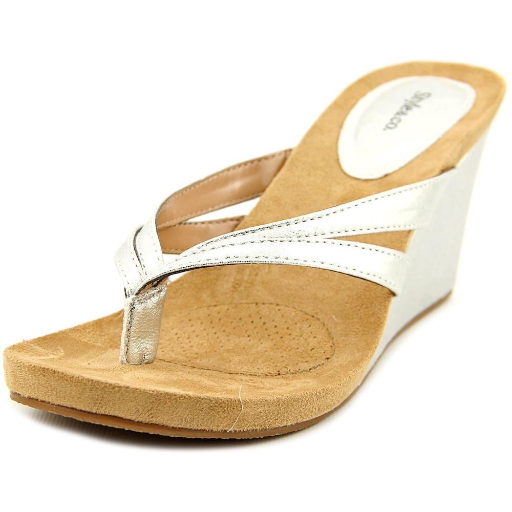 Style & Co... Womens Cassie Split Toe Casual Slide Sandals B0036KTQQA Parent