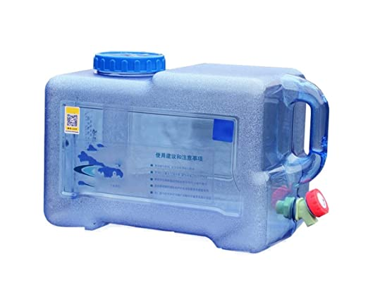 RSH 22L Bidón De Agua Plástico con Grifo Depósito De Agua ...