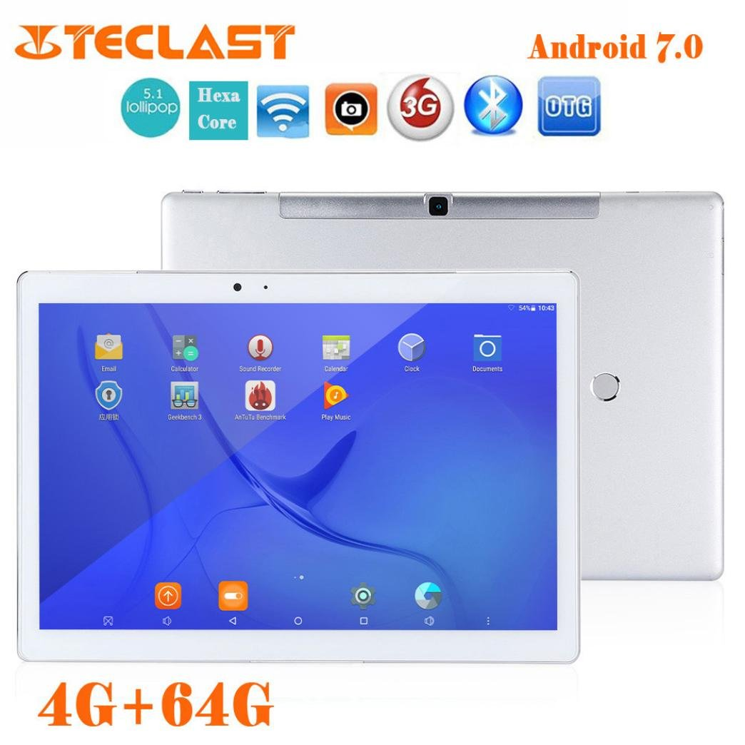 Teclast T10 Hexa Core 10.1 Android 7.0 4+64GB WIFI Fingerprint OTG Tablet PC Dreamyth by Dreamyth