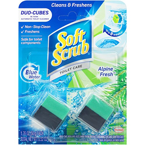 Soft Scrub In-Tank Toilet Cleaner Duo-Cubes, Alpine Fresh, 2 Count