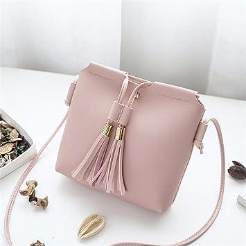 6960ca14b8f8 Amazon.com : Hot One Leather Shoulder Bag small Tote Crossbody Bag ...