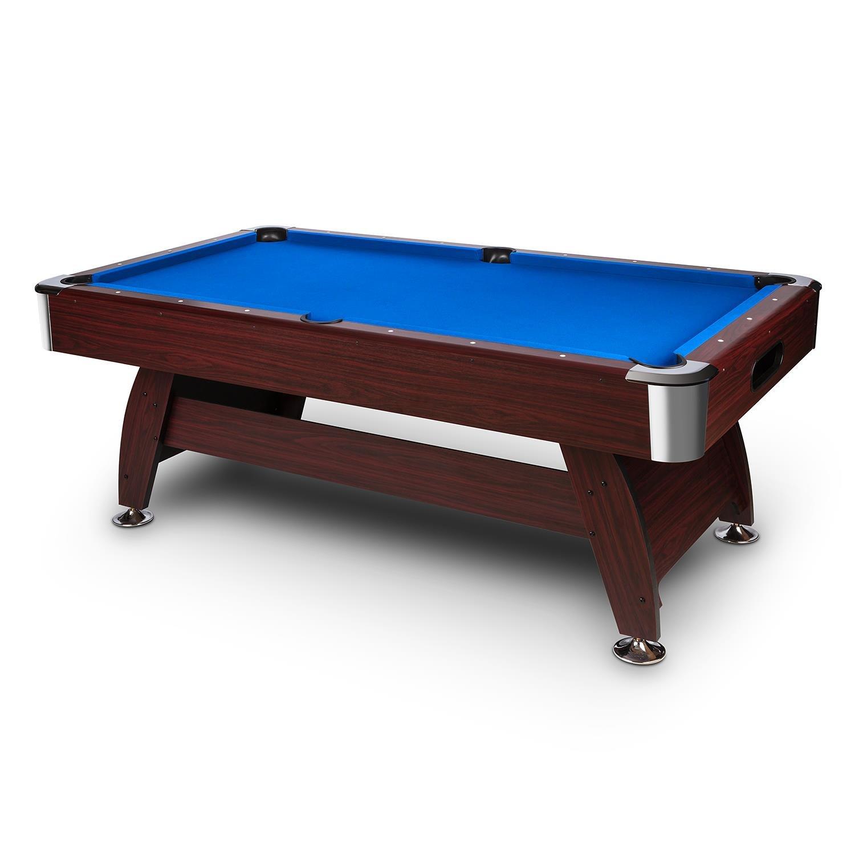 oneConcept Brighton mesa de billar mesa de pool madera DM