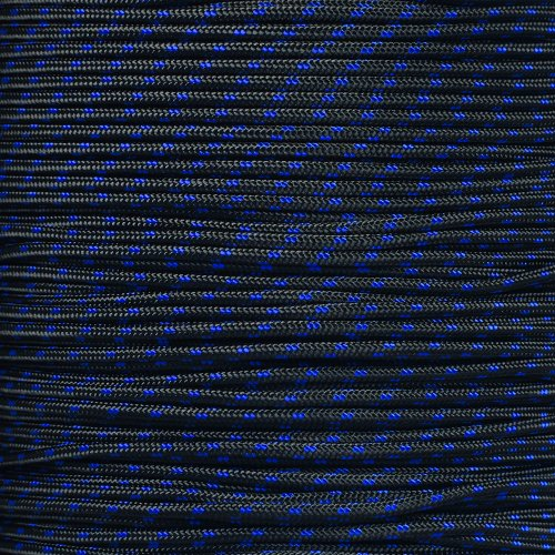 "Paracord Planet Tactical 5-Strand Nylon Core 275-LB Tensile Strength Paracord Rope 3/32"" (2.38mm Diameter)"