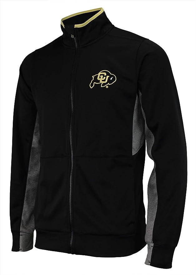 Outerstuff NCAA Mens First String Full Zip Jacket, Team Variation