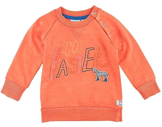 Feetje - Sudadera de deporte - Sudadera - para bebé niño naranja 68 cm : Amazon.es: Ropa y accesorios