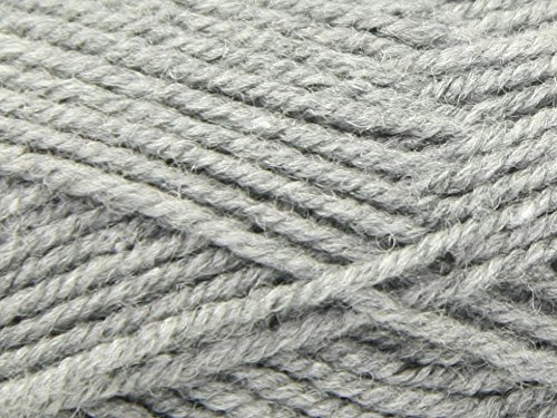 King Cole Fashion Knitting Yarn Aran 314 Graphite - per 100 gram ball