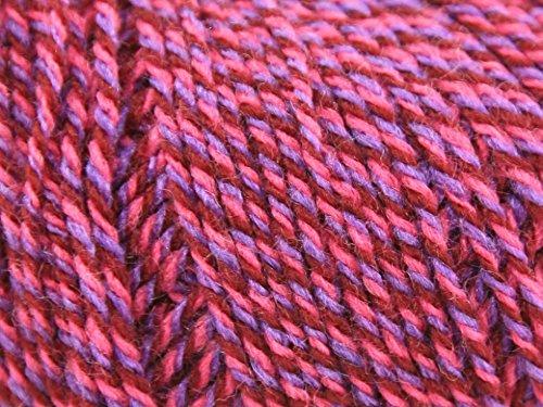 Sirdar Click Knitting Yarn DK 200 Spicy Pink - per 50 gram (Sirdar Click Dk Yarn)
