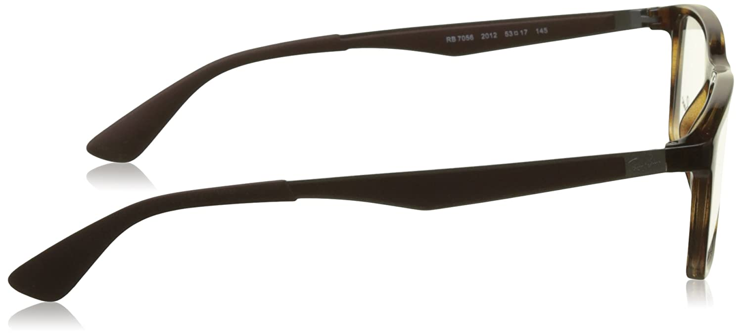 45766bc0ec Amazon.com  Ray-Ban Optical 0RX7056 Sunglasses for Mens  Clothing