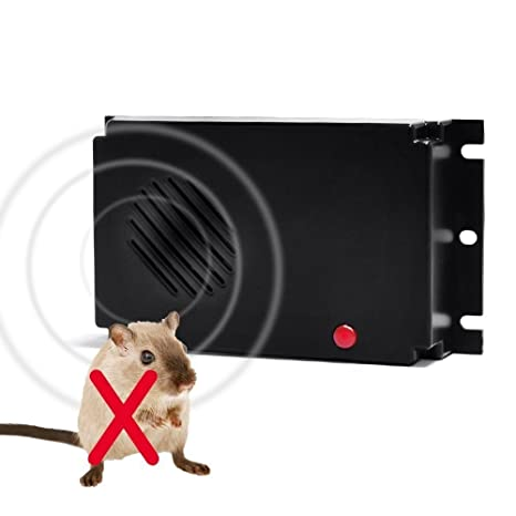 c2b844bd4cfd Glaray Marten Repeller, Ultrasonic Pest Mouse Rodent Repellent, Battery  Powered Free Mobile Marten Repellents for Your Car, House, Garage, Barn, ...