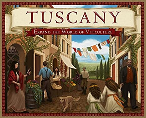 Ghenos Games – Viticulture Tuscany – Expansión, vtts: Amazon.es ...