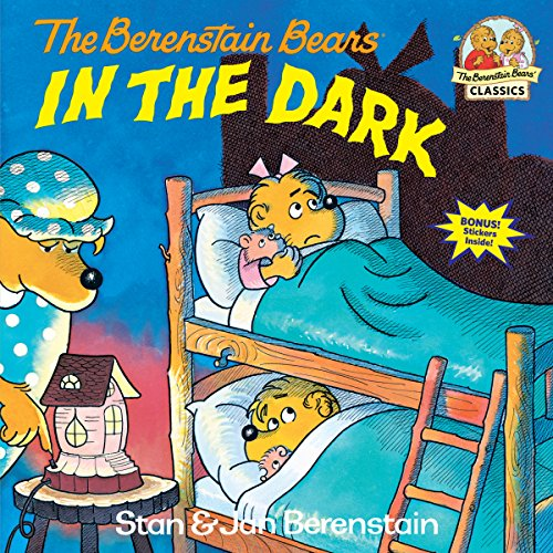 The Berenstain Bears in the Dark (First Time - Sticker Afraid