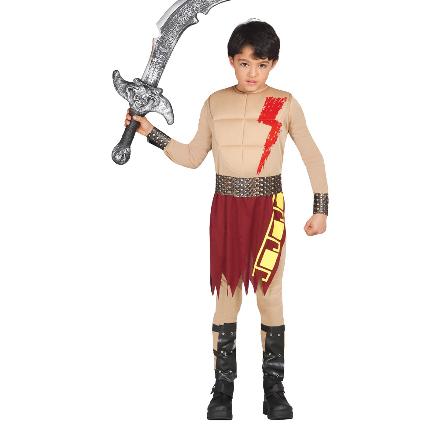Guirca - Disfraz Gladiador infantil de 10 a 12 años: Amazon.es ...