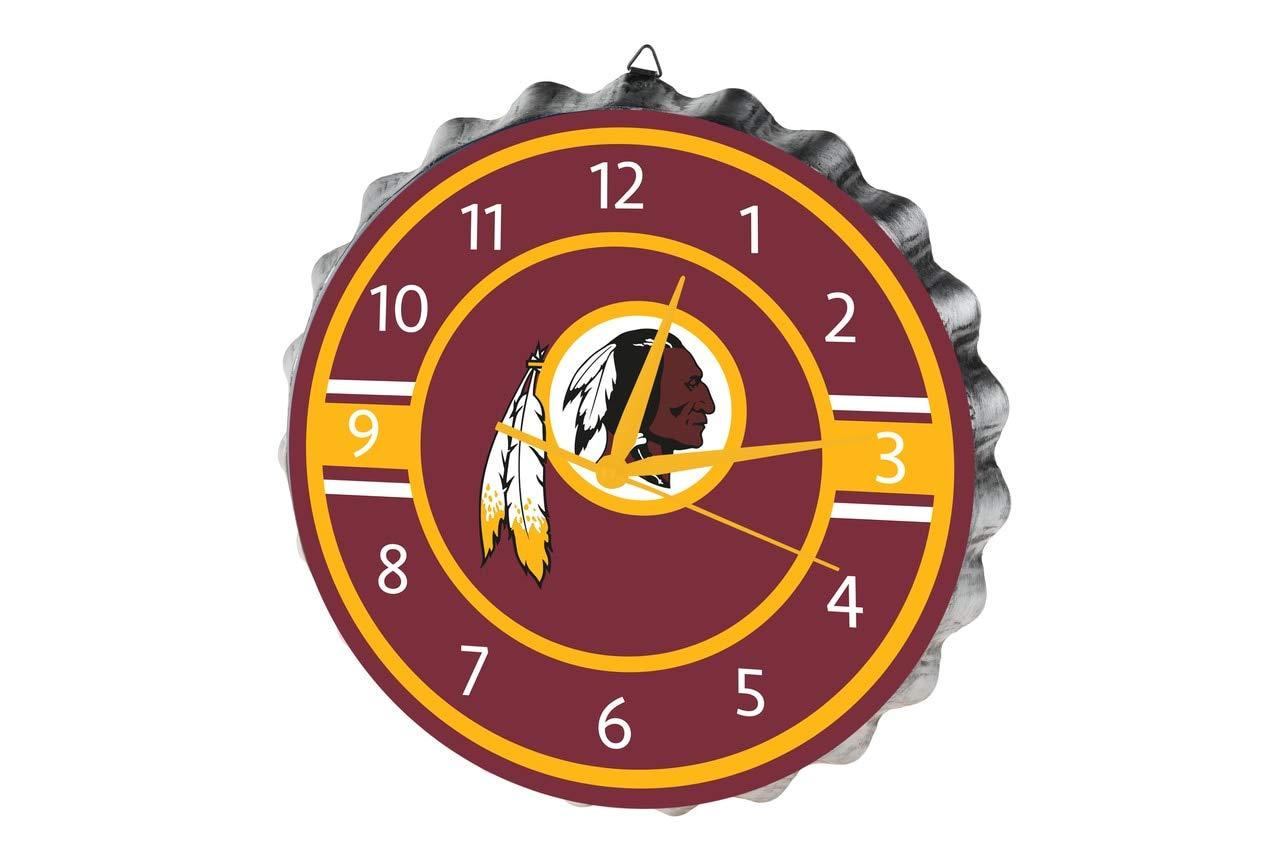 Washington Redskins Bottlecap Clock by FOCO